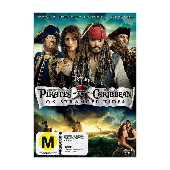 Pirates of the Caribbean - Blu-ray