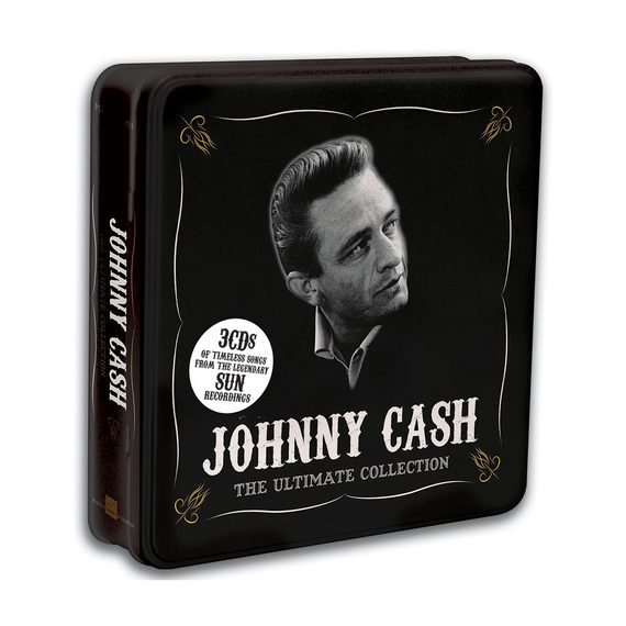 Johnny Cash – The Ultimate Collection 3 CD Tin Set