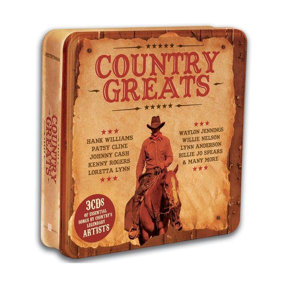 Country Greats 3 CD Tin Set