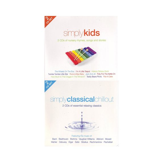 Simply Kids 2CD & Simply Classical Chillout 2CD