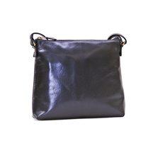 Konev Leather Small Shoulder Bag - Black
