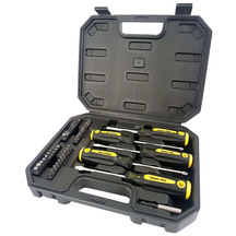 Trades Pro Screwdriver & Bit Set - 46 Piece