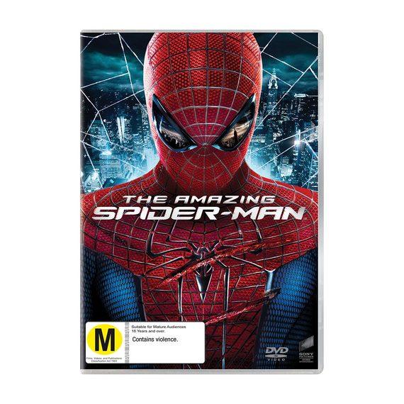 Amazing Spiderman DVD and Blu-ray
