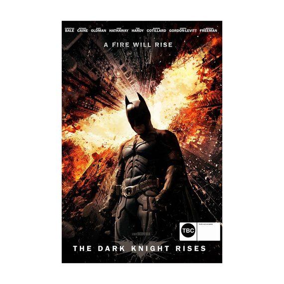 Batman - The Dark Knight Rises DVD and Blu-ray