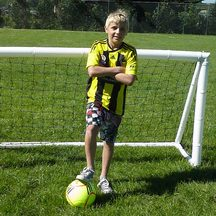 Air Goals - Inflatable football Goal 2M X 1M