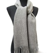 Stansborough Grey Wool Lord of The Rings Scarf