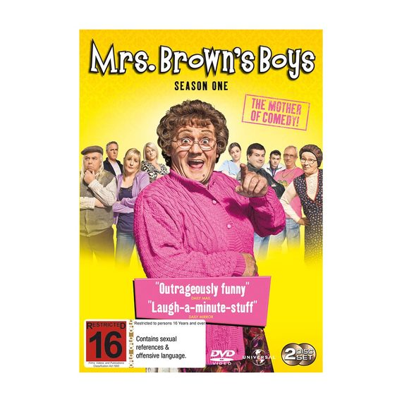 Fly Buys: Mrs Brown's Boys