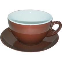 Authentic Cappuccino Cup + Saucer (Set 6)