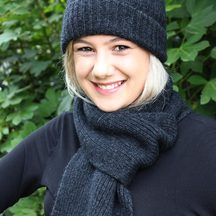 Possum Merino blend - Beanie and Scarf