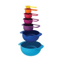 Joseph Joseph 7 Piece Nest Bowls & Measuring Cups