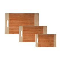Bamboo Chopping Board Pack (3)