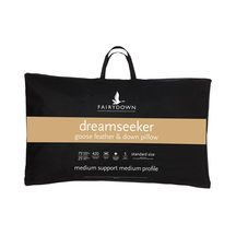 Fairydown Dreamseeker 25/75% Goose Down & Feather Pillow ...