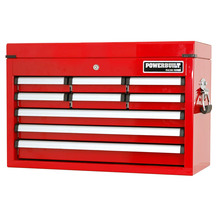Powerbuilt 9 Drawer Racing Series Tool Chest - Red