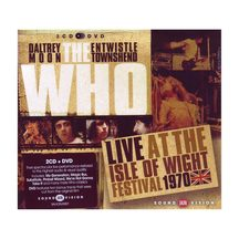 The Who Live at The Isle of Wight 1970 - 2 CD & DVD Set