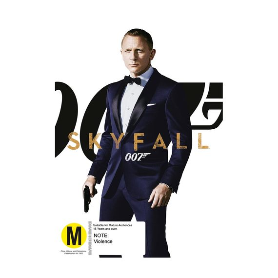 Skyfall - DVD and Blu-ray