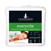 Fairydown Everynite All Seasons 2-in-1 Duck Down & Feathe...