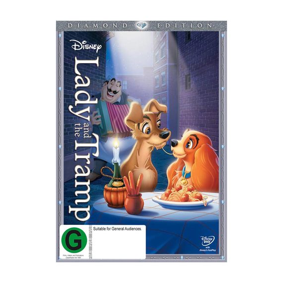Lady and the Tramp DVD and Blu-ray