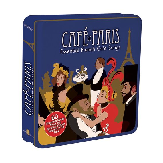 Café de Paris – Essential French Café Songs – 3 CD Tin Set