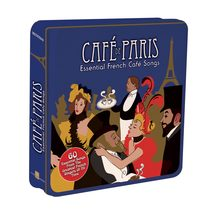Cafe de Paris – Essential French Cafe Songs – 3 CD Tin Set