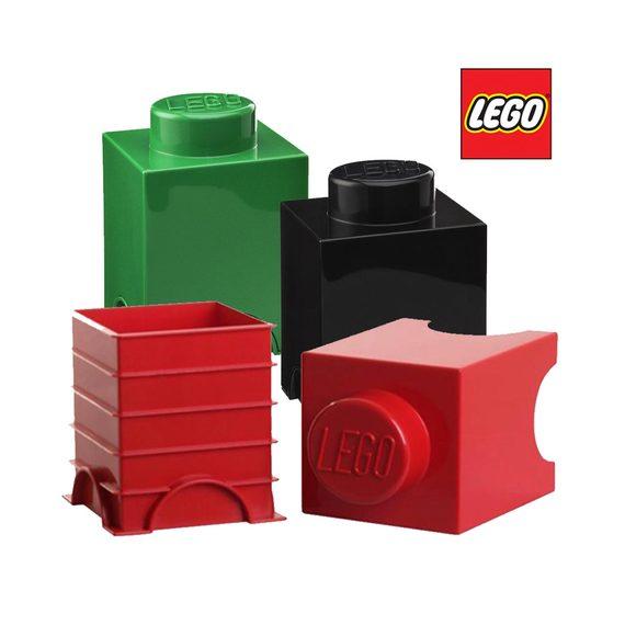 Fly Buys Lego Brick Interlocking Storage Containers