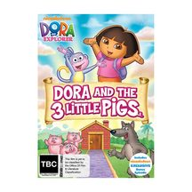 Dora and the 3 little Pigs DVD