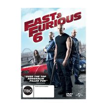 Fast and Furious 6 - DVD and Blu-ray