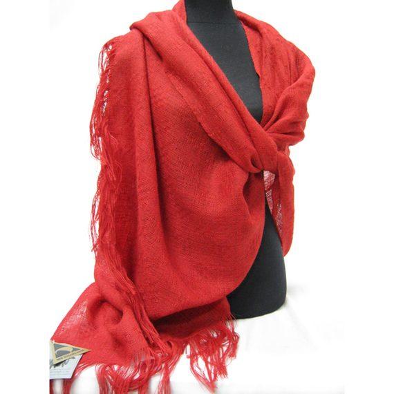 Stansborough Grey Wool Richards Lace Wrap