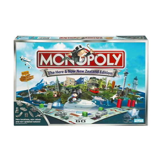 Monopoly Here and Now NZ