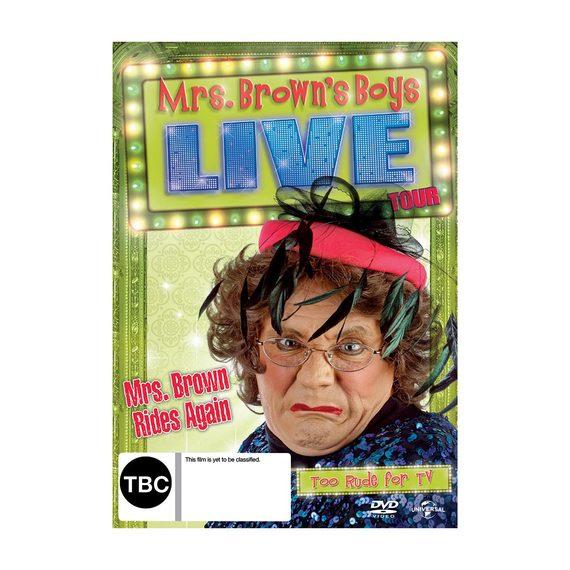 Mrs Brown Rides Again DVD