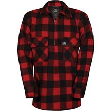Swanndri 100% Pure Wool Ranger Shirt - Red/Black