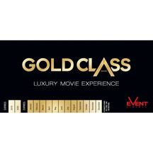 Event Cinemas Gold Class: Book of  6 Movie Passes