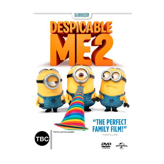 Despicable Me 2 - DVD and Blu-ray