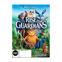 Rise Of The Guardians DVD and Blu-ray