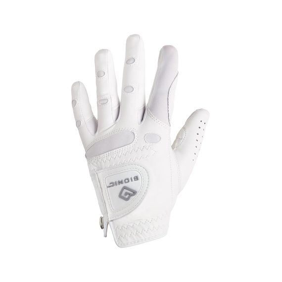 BIONIC Womens Golf Glove StableGrip White Left