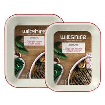 Wiltshire Retro 2 Piece Enamel Baking Dish Set