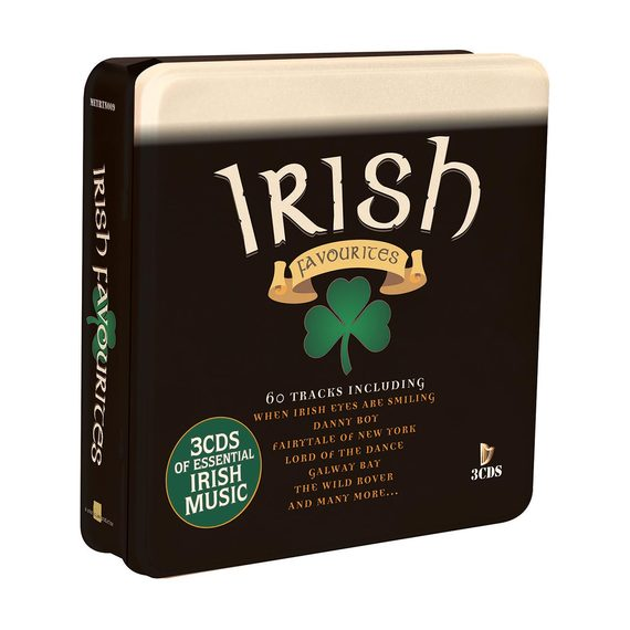 Irish Favourites - The Ultimate Collection 3 CD Tin Set