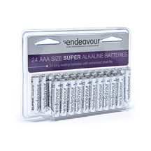 Endeavour Batteries AAA 24 Pack