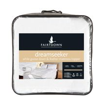 Fairydown Dreamseeker Goose Down Mattress Topper