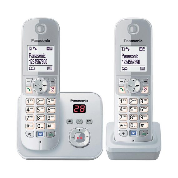 Panasonic Noise Reduction Phone - Twin Cordless Handset