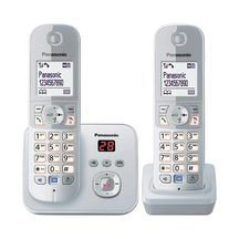 Panasonic Twin Handset Noise Reduction Cordless Phone - K...