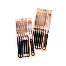 Laguiole Knife and Fork Set 6 pce