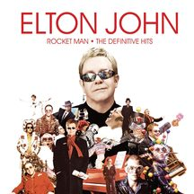 Elton John – Rocket Man - The Defintive Hits CD