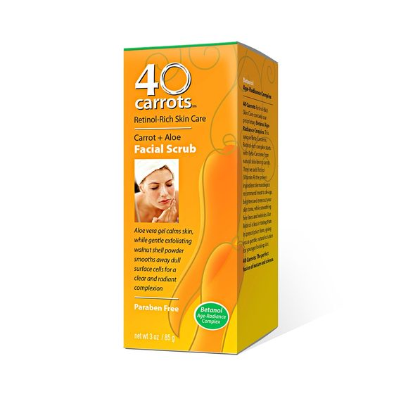 40 Carrots – Facial Scrub
