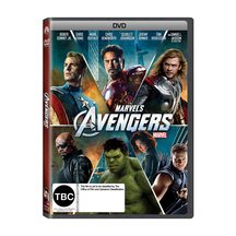 The Avengers DVD and Blu-ray