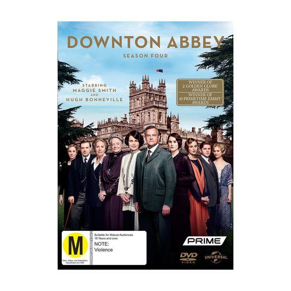 Downton Abbey Season 4 - DVD and Blu-ray