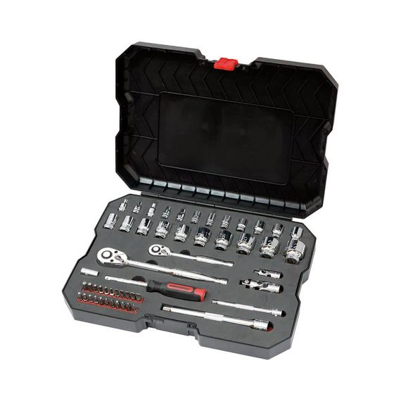 POWERBUILT 53 Piece Metric Socket Set