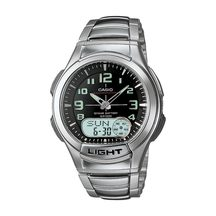 Casio Men's Stainless Steel Duo Watch