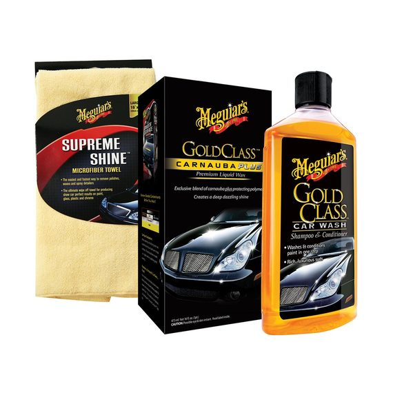 fly buys meguiar s gold class wash and wax kit. Black Bedroom Furniture Sets. Home Design Ideas