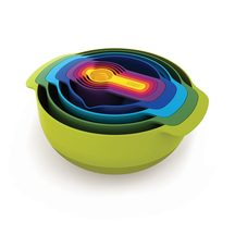 Joseph Joseph 9pc Nest Bowls and Measuring Cups