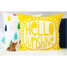 Thread Design Hello Sunshine Cushion
